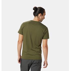 Mountain Hardwear M's Straight Up SS T-Shirt Dark Army